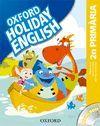 HOLIDAY ENGLISH 2º PRIM PACK CAT 3ED