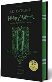 HARRY POTTER AND THE PHILOSOPHER'S SOTNE. SLYTHERIN.