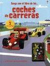 JUEGA CON EL LIBRO DE LOS COCHES DE CARRERAS