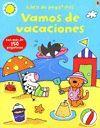 VAMOS DE VACACIONES  PEGATINAS