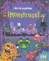 MONSTRUOS LIBRO PEGATINAS