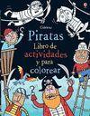 LIBRO DE ACTIVIDADES Y COLOREA PIRATAS