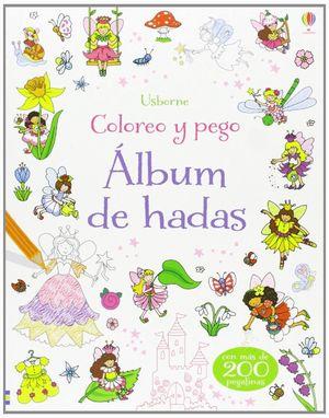 LAS HADAS COLOREO Y PEGO