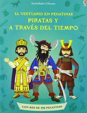 PIRATAS Y A TRAVES TIEMPO VEST PEGATINAS