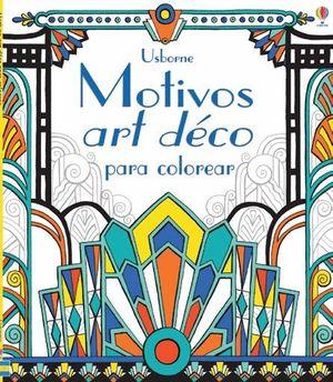 MOTIVOS ART DECO PARA COLOREAR