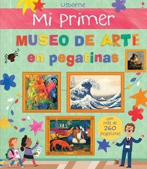 MI PRIMER MUSEO DE ARTE CON PEGATINAS