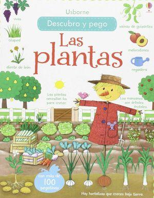 LAS PLANTAS DESCUBRO Y PEGO