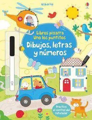 DIBUJOS, LETRAS Y NÚMEROS