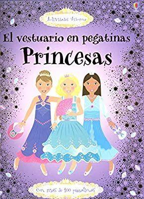 PRINCESAS LIBRO PEGATINAS