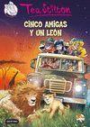 CINCO AMIGAS Y UN LEON