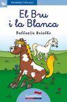 EL BRU I LA BLANCA (LLETRA LLIGADA)
