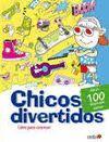 CHICOS DIVERTIDOS. LIBRO PARA COLOREAR
