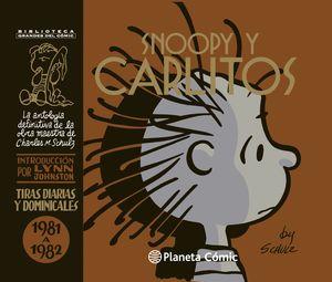 SNOOPY Y CARLITOS 1981-1982 Nº 16/25