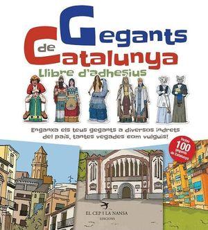 GEGANTS DE CATALUNYA. LLIBRE D'ADHESIUS