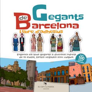 GEGANTS DE BARCELONA. LLIBRE D'ADHESIUS