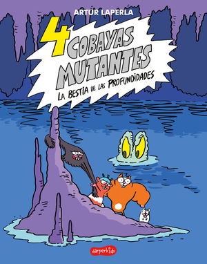 4 COBAYAS MUTANTES 2 BESTIA PROFUNDIDADE