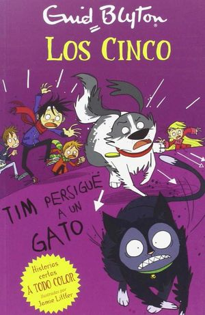 TIM PERSIGUE UN GATO