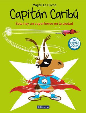 CAPITAN CARIBU. SOLO HAY UN SUPERHEROE E
