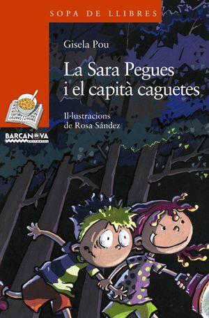 LA SARA PEGUES I EL CAPITÀ CAGUETES