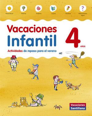 VACACIONES INFANTIL 4 AÑOS