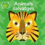 ANIMALS SALVATGES.EL MEU PRIMER LLIBRE PUZLE(VVKID
