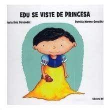 EDU SE VISTE DE PRINCESA