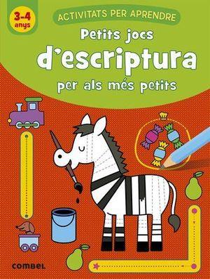 PETITS JOCS D'ESCRIPTURA PER ALS MÉS PETITS (3-4 A