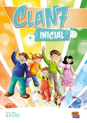 CLAN 7 INICIAL A1.1 PACK DEL ESTUDIANTE