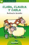 CLARA, CLAUDIA Y CARLA (LETRA DE PALO)