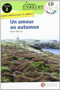 EVASION NIVEAU 2 UN AMOUR EN AUTOMNE + CD