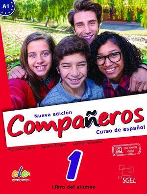 COMPAÑEROS 1 LIBRO ALUMNO @ NUEVA EDICIÓN
