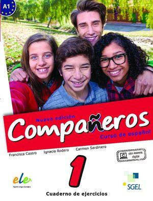 COMPAÑEROS 1 CUADERNO DE EJERCICIOS. NUEVA EDICIÓN