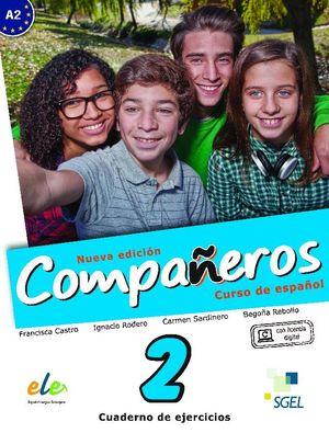 COMPAÑEROS 2 CUADERNO DE EJERCICIOS. NUEVA EDICIÓN