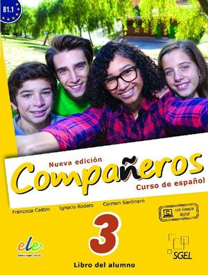 COMPAÑEROS 3 ALUMNO. NUEVA EDICIÓN