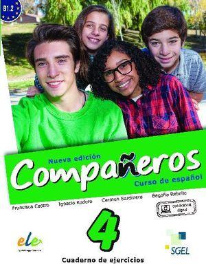 COMPAÑEROS 4 CUADERNO DE EJERCICIOS. NUEVA EDICIÓN