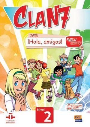 CLAN 7 CON ¡HOLA, AMIGOS! 2 CARTERA DE RECURSOS