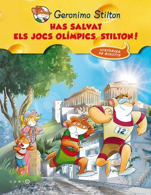 HAS SALVAT ELS JOCS OLÍMPICS, STILTON!
