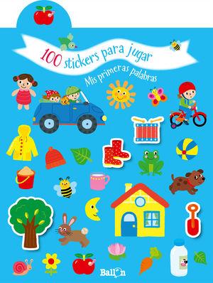 100 STICKERS PARA JUGAR - PRIM PALABRAS